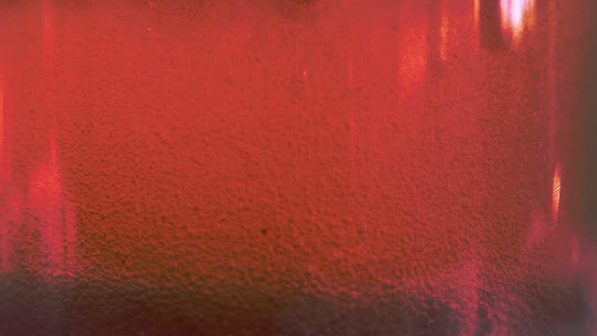 Transparent liquid with air bubbles #1019210554