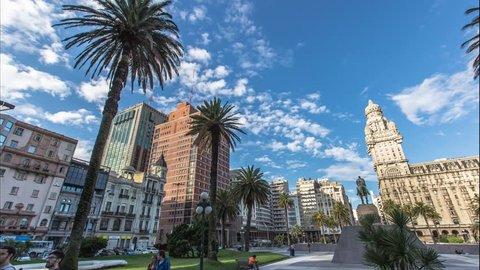 Timelapse Montevideo Uruguay