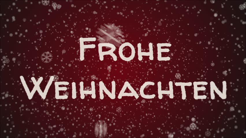 Animation Frohe Weihnachten.Animation Frohe Weihnachten Merry Stock Footage Video 100 Royalty Free 1019414194 Shutterstock