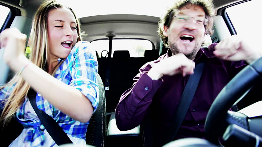 Happy Father and Daughter Singing Stock Footage Video (100% Royalty-free)  10194254 | Shutterstock