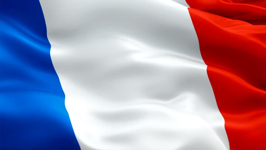 French flag Closeup  | Shutterstock HD Video #1019792074