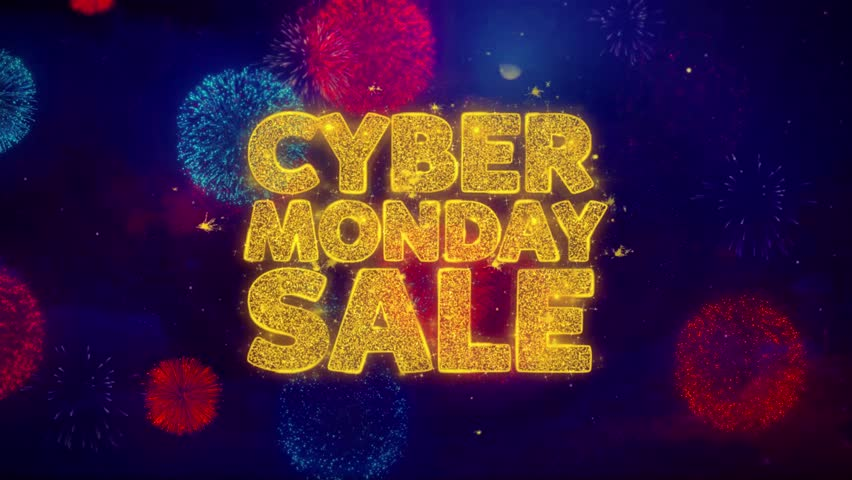 Cyber Monday Sale Greeting Text Stock Footage Video (100% Royalty-free)  1020239734   Shutterstock