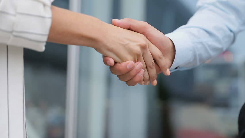 Business People Shaking Hands Closeup. People Shaking Hands | Shutterstock HD Video #1020503794