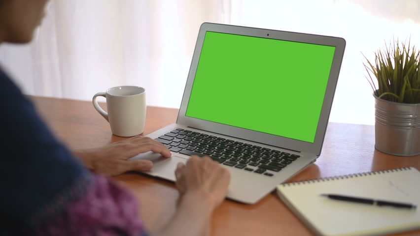 Young business start up, Young Owner Woman Start up for Business Online Working at home, Over the shoulder shot of a woman typing on a computer laptop with a key-green screen in home. | Shutterstock HD Video #1021001194
