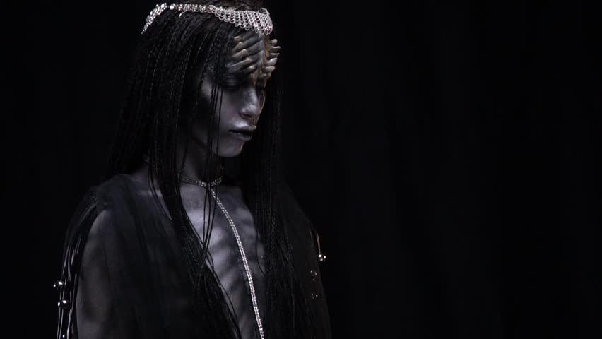 Halloween alien costume | Shutterstock HD Video #1021309444