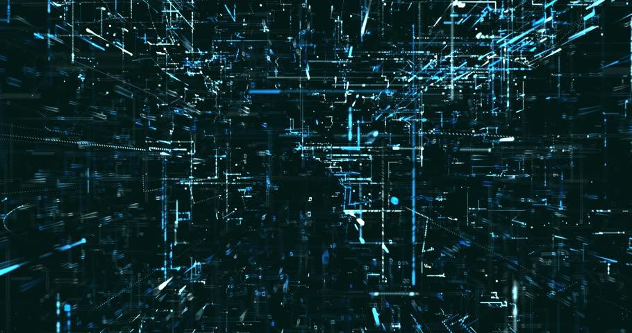 Abstract digital data background   Shutterstock HD Video #1021992304