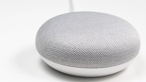 Google Home Mini Stock Video Footage 4k And Hd Video Clips