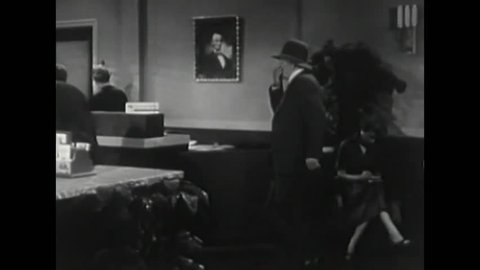 CIRCA 1950s - In hopes of securing a meeting with him, an old man reminds a bank president of a time he helped him out of a tight spot.