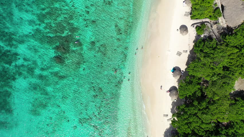 A Secluded Tropical Beach in Stock Footage Video (100% Royalty-free)  1022550814 | Shutterstock