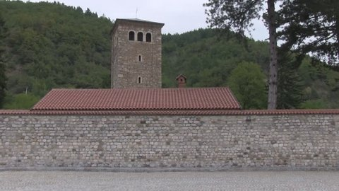 Patriarchal Monastery of Pec is a medieval Serbian Orthodox monastery located near the city of Pec, in Kosovo  -  UNESCO World Heritage Site.
