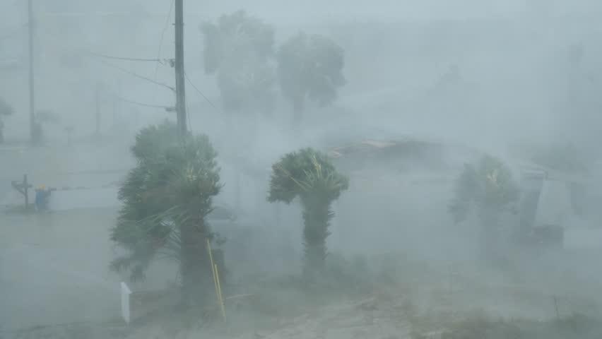 Hurricane Michael Extreme Wind