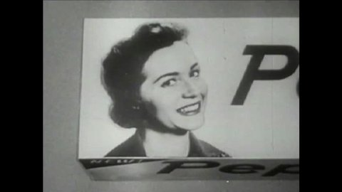CIRCA 1950s - 1960s - Pepsodent commercial