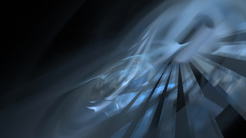 Abstract fractal forms morph and oscillate (Loop)   Shutterstock HD Video #1023833944