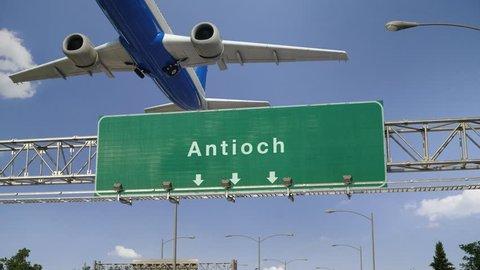Airplane Take off Antioch