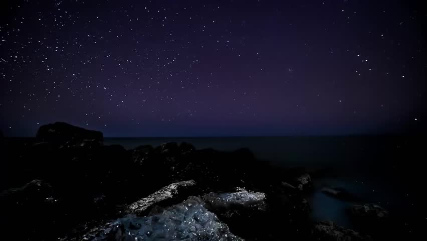 Stars Sky Turning Space Astrophotography Time Lapse | Shutterstock HD Video #1023907324
