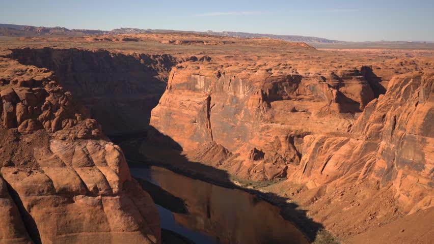 Horseshoe Bend Colorado River Arizona USA | Shutterstock HD Video #1024005584
