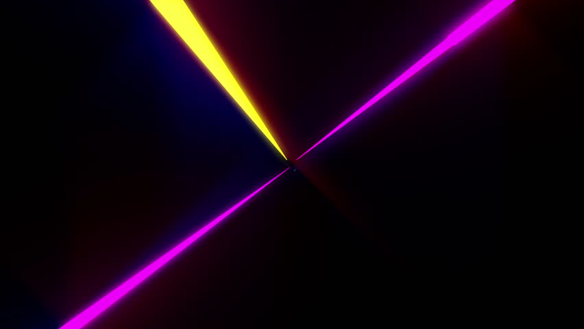 abstract futuristic 4k fractal style background 3d render abstract geometric background fluorescent ultraviolet light, glowing neon lines rotating, blue red pink purple spectrum 4k motion pattern huge