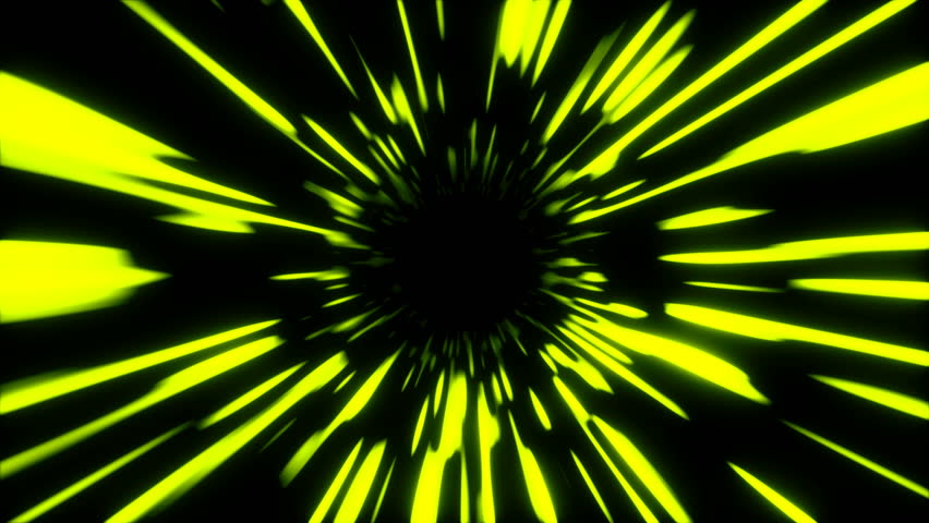 Abstract fast hyper warp neon tunnel, moving in space and time, distortion of space, traveling in space, 3d rendering | Shutterstock HD Video #1024554494