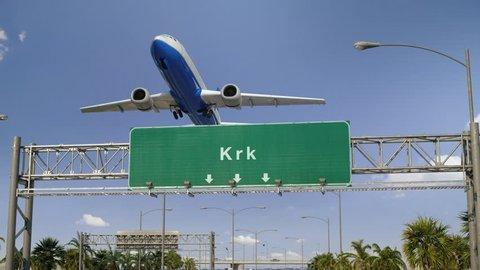 Airplane Take off Krk