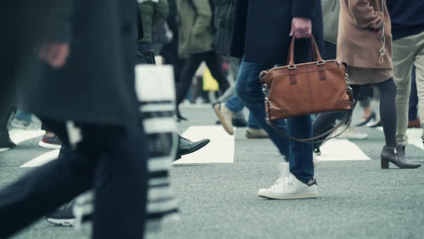 Walking Japanese people in Shibuya Tokyo Japan Shibuya Crossing   Shutterstock HD Video #1025035814