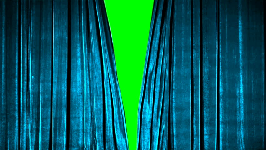 Real Velvet Cloth Stage silk Curtain open on green screen. Curtain For theater, opera, show, stage scenes. This opening curtain are shooted on Red Camera - slow motion. Real Cinematic Curtain. | Shutterstock HD Video #1025240924
