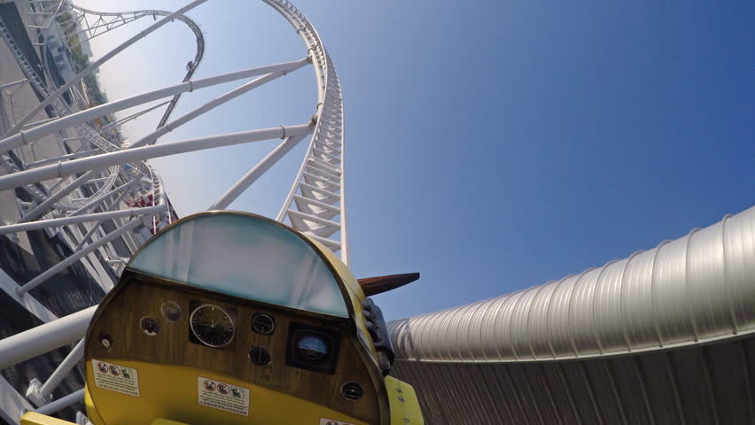 Free Rollercoaster Stock Video Footage - (8 Free Downloads)