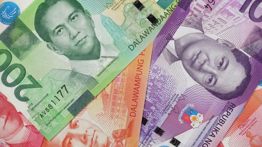Philippine New Peso Bills Rotating  Stock Footage Video (100% Royalty-free)  1025426834 | Shutterstock