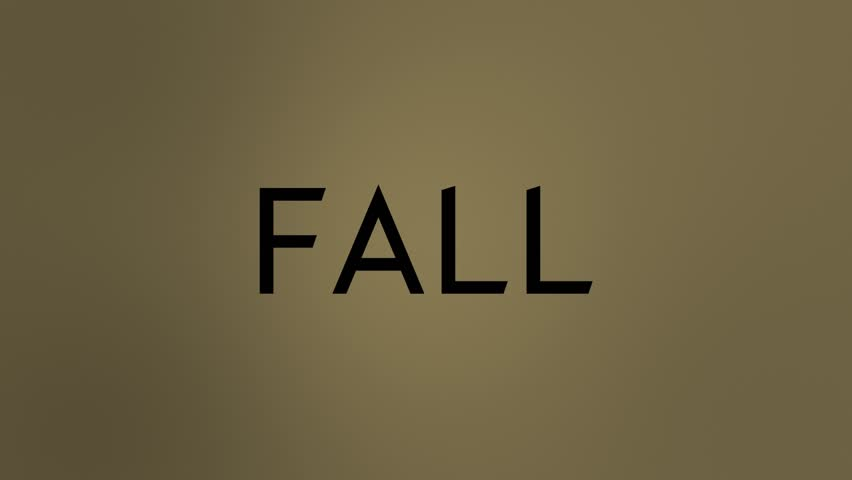 Fall Text Wind Dissolve. HD | Shutterstock HD Video #1025599694
