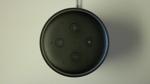 Turning The Volume To Max On Amazon Echo Speaker.