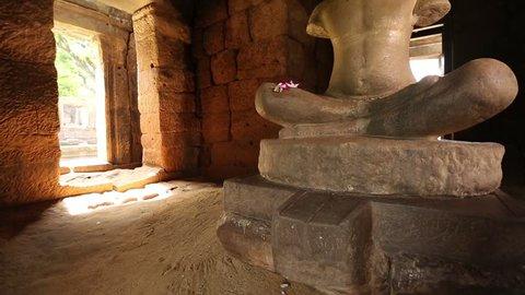 Buddha image in Prasat Hin Phimai