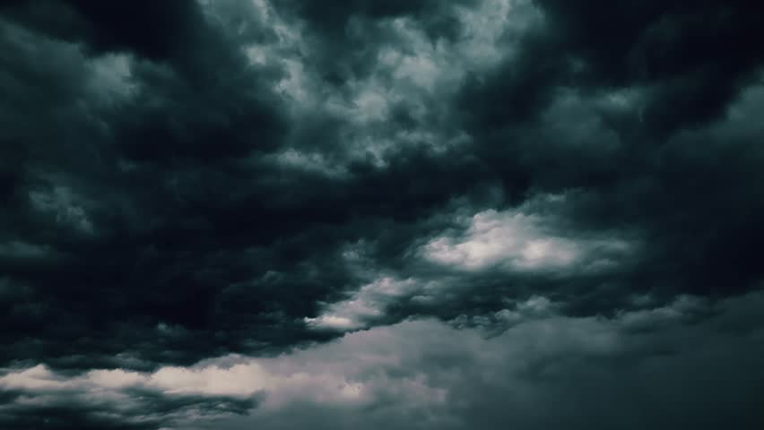 4k global warming effect black thunderstorm dramatic rain dark bright puffy fluffy clouds tropical twilight rain ultra hd definition 4k abstract cloud backgrounds Realistic lightning strikes rainy day | Shutterstock HD Video #1025735624