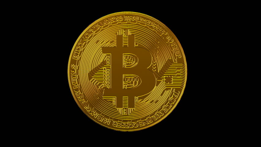 Bitcoin blockchain crypto currency digital encryption network for world money, alpha channel | Shutterstock HD Video #1025779904