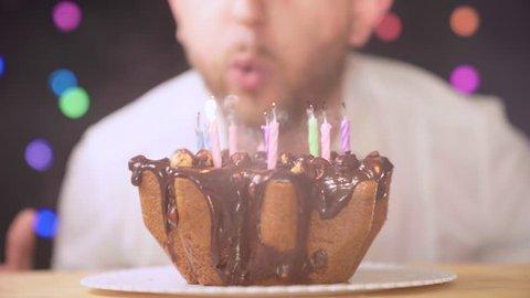 Peachy Birthday Cake With Candles Birthday Stockbeeldmateriaal En Personalised Birthday Cards Vishlily Jamesorg