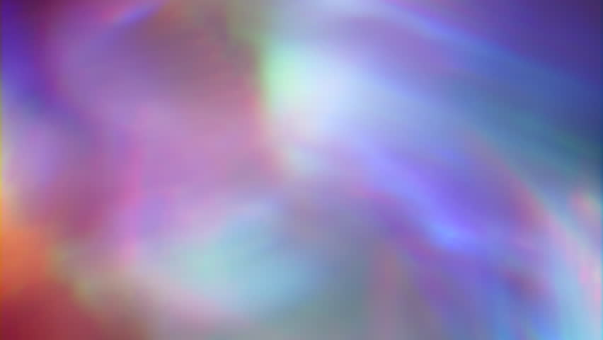 Multicolored iridescent natural background, glowing light, multicolored reflections. High quality prores file. | Shutterstock HD Video #1026656534