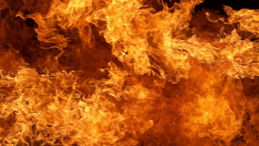 Fire explosion shooting with high speed camera #1026664634
