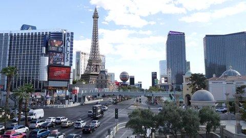 USA, Nevada / Las Vegas - Feb 11 2019: Las Vegas Strip Skyline at daylight