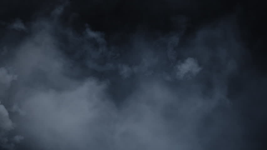 Atmospheric smoke VFX overlay element. Haze background. Smoke in slow motion on black background. White smoke slowly floating through space against black background. Mist effect. Fog effect. | Shutterstock HD Video #1026893264