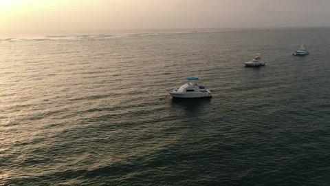 Mombasa Beach drone footage