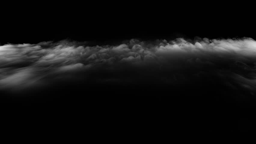 Smoke , vapor , fog , Cloud - realistic smoke cloud best for using in composition, 4k, screen mode for blending, ice smoke cloud, fire smoke, ascending vapor steam over black background - floating fog | Shutterstock HD Video #1028275544
