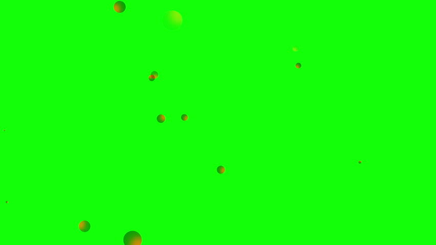 Green background with moving circles  | Shutterstock HD Video #1028644454