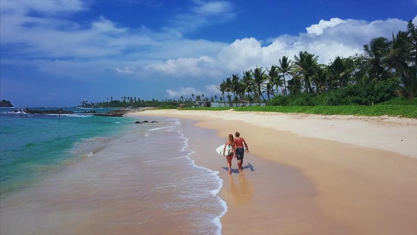 amateur mature honeymoon on the beach