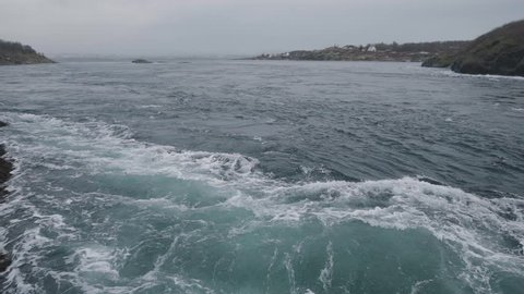 Saltstraumen is a small strait with one of the strongest tidal currents in the world. It is located in the municipality of Bodø in Nordland county, Norway. filmed in slowmotion 120 fps