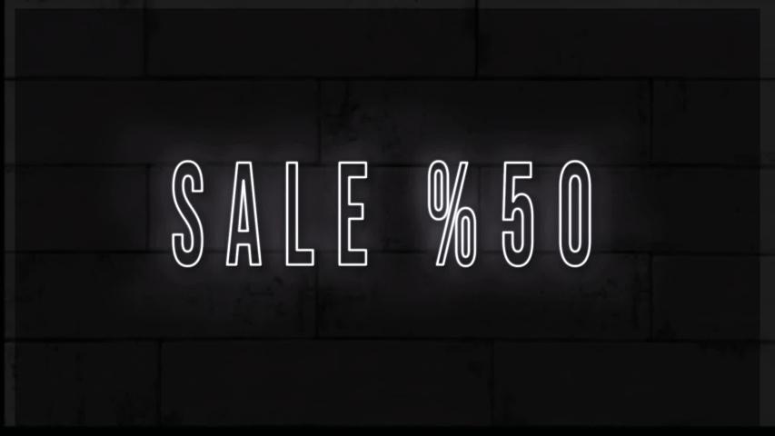 4K Sale %50 - Brickwall Animation |Loopable | Shutterstock HD Video #1030151984