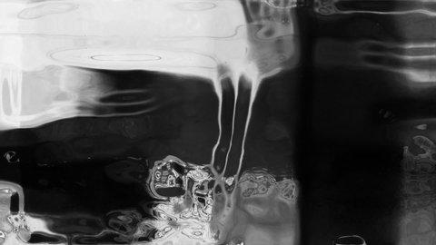 Flicker 093: Abstract film leader forms flicker and pulse (Loop).