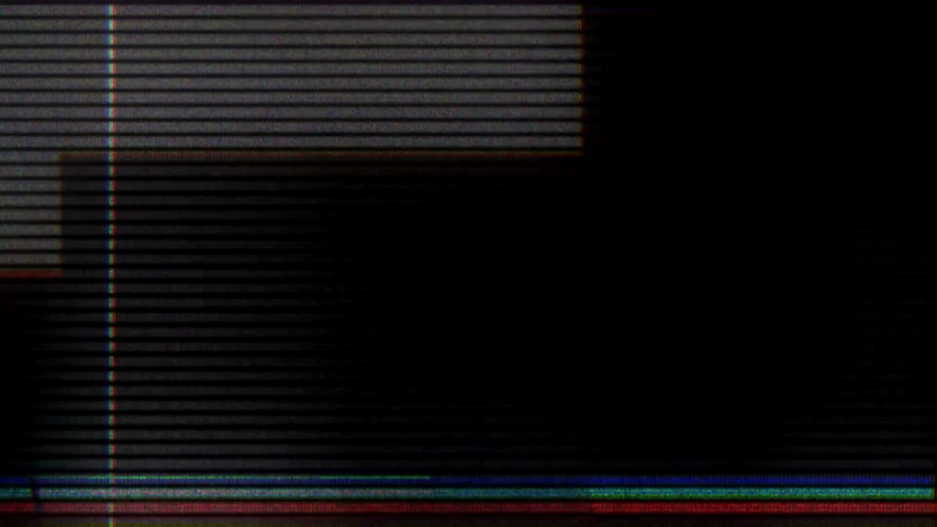 Glitch noise static television VFX. Visual video effects stripes background, tv screen noise glitch effect. Video background, transition effect for video editing, intro and logo reveals with sound. | Shutterstock HD Video #1032210914