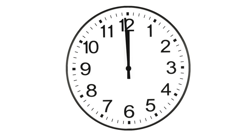 Clock Time Lapse (HD) Stock Footage Video 167725