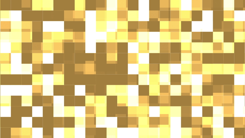 Colorful pixelated gradient background. Seamless loop animation. Slow motion glowing mosaic tiles with shine light. 4k video. | Shutterstock HD Video #1033542824