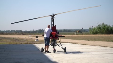 Gyroplane Stock Video Footage - 4K and HD Video Clips | Shutterstock