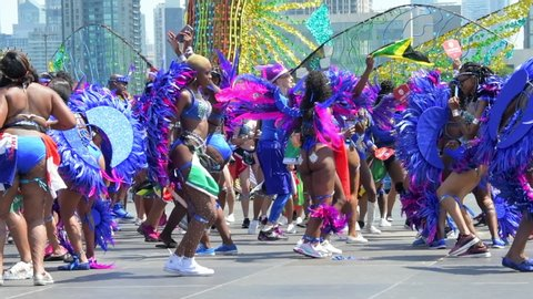 Caribana Parade Stock Video Footage - 4K and HD Video Clips