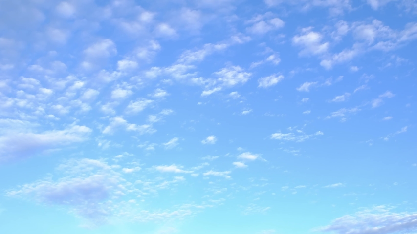 4K Time lapse, beautiful sky with clouds background, Sky with clouds weather nature cloud blue, Blue sky with clouds and sun, Clouds At Sunrise.   Shutterstock HD Video #1034660294